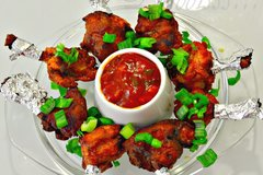 Salg: Chicken lollypop